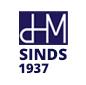 Logo: DHM sinds 1937
